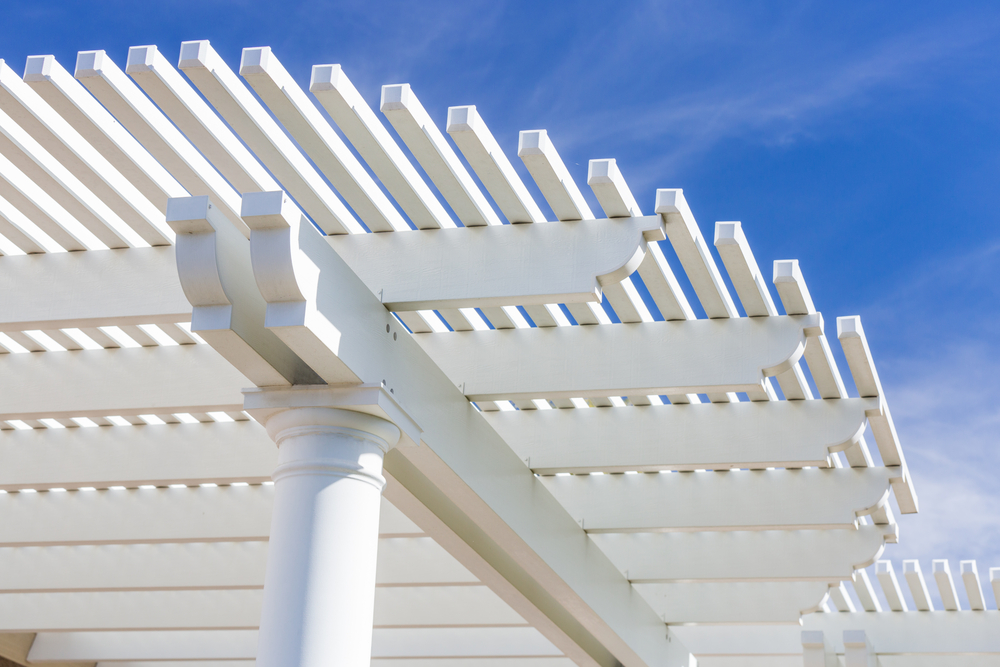 inexpensive patio cover lattice design